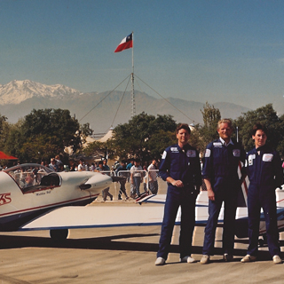 Skyhawk Aerobatic Team in Chile